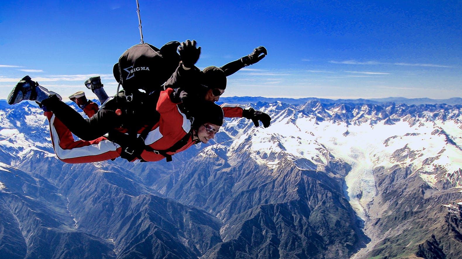 Skydive-Over-Glacier
